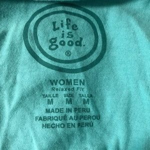 Life Is Good Tops - Life is Good Long Sleeve Relaxed Fit T-shirt